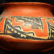 Polychrome Pottery 1100 Ad Poster