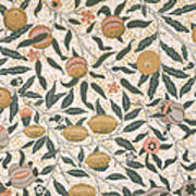 Pomegranate Design For Wallpaper Poster by William Morris