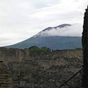 Pompeii Beneath Vesuvius Poster