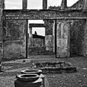 Pompeii Urns Poster by Marion Galt