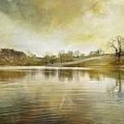 Pond In Spring Poster