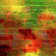 Pondweed Leaf Poster