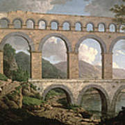 Pont Du Gard, Nimes Poster