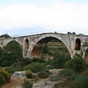Pont St. Julien And Calavon River  Poster