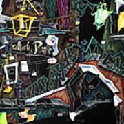 Ponte Del Megio - Venice Fine Art Collage  Poster by Arte Venezia