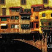 Ponte Vecchio Firenze Poster
