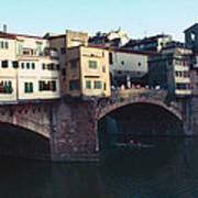 Ponto Vecchio Florence Palette Poster