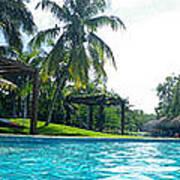 Pool Panorama Poster