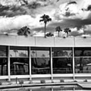 Pool Storm Palm Springs Poster