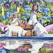 Poolside Tea I Poster