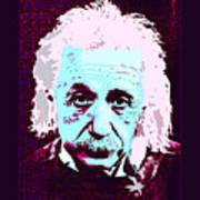Pop Art Einstein No 3 Poster