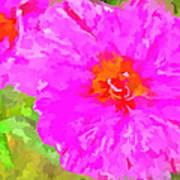 Pop Art Floral Poster