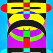 Pop Art People Totem 2 Poster