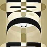 Pop Art People Totem 6 Poster