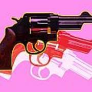 Pop Handgun Poster