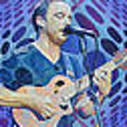 The Dave Matthews Band Op Art Style Poster