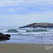 Popham Beach Surf Poster