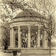 Popp Bandstand Sepia Poster