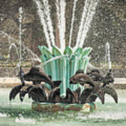 Popp Fountain In City Park New Orleans Poster