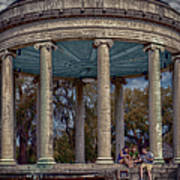 Popps Bandstand In City Park Nola Poster