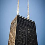 Popular Chicago Hancock Building Skyscraper Poster