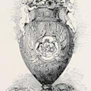 Porcelain Vase, Manufactured At Coalbrooke Dale Poster