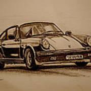 Porsche 911 Carrera Poster