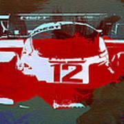 Porsche Le Mans Poster by Naxart Studio