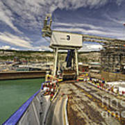 Port Of Dover  Poster