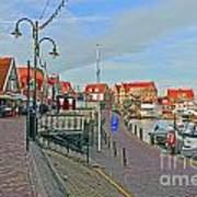 Port Of Volendam Poster