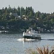 Port Orchard Foot Ferry Poster