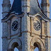 Port Washinton Court House Steeple 1  Poster