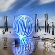 Port Willunga Orb Poster by Shannon Rogers