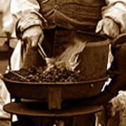 Portable Forge Circa 1800s Poster