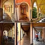 Porticos Of Padua No 4 Poster
