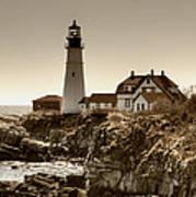 Portland Head Lighthouse Poster by Joann Vitali