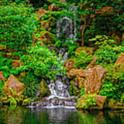 Portland Japanese Garden Poster