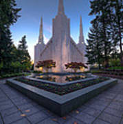 Portland Temple Poster