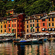 Portofino Italy Poster by Xavier Cardell