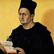 Portrait Of A Benedictine Abbot Poster