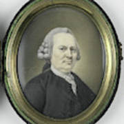 Portrait Of A Man, Mayby A Member Of The Collot Descury Or Poster