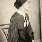 Portrait Of A Woman, C1895 Poster