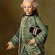 Portrait Of Aleksey Bobrinsky As A Child Poster