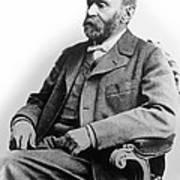 Portrait Of Alfred Nobel Poster