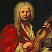 Portrait Of Antonio Vivaldi Poster