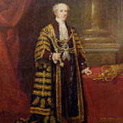 Portrait Of Colonel Sir Samuel Wilson, Lord Mayor Of London, 1838 Oil On Canvas Poster