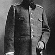 Portrait Of Djemal Pasha Poster