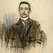 Portrait Of Eduardo Chicharro Poster