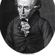 Portrait Of Emmanuel Kant  Poster by German School