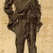 Portrait Of Ezequiel Boixet Poster